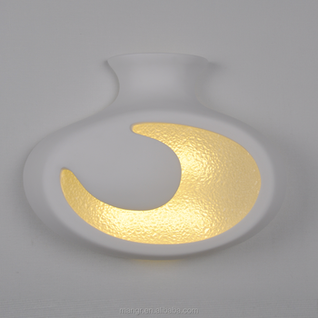 Wall-light-mg-3170 Led Gypsum Art Wall Lamp Plaster Wall Light ...