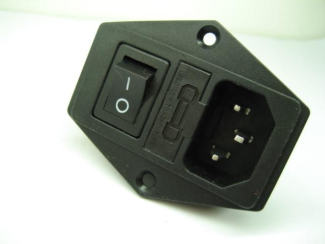 Buy AC power socket+rocker switch,fuse switch,ac inlet in Cheap ...
