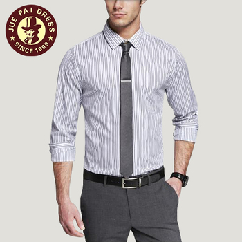 Office Wear Slim Fit White Dress Shirts