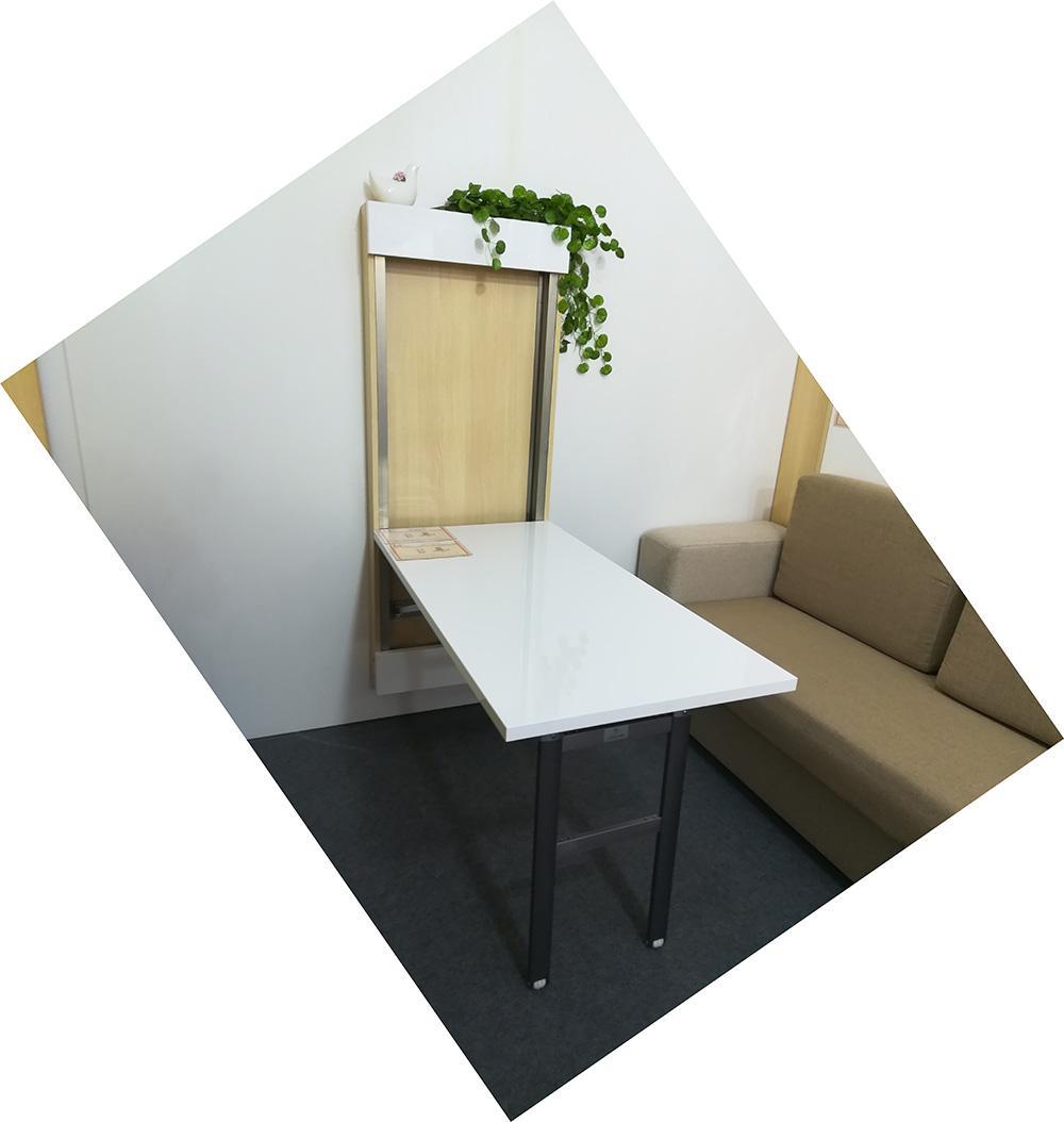 Fold Down Wall Table Hardware Mounted Folding Mechanism