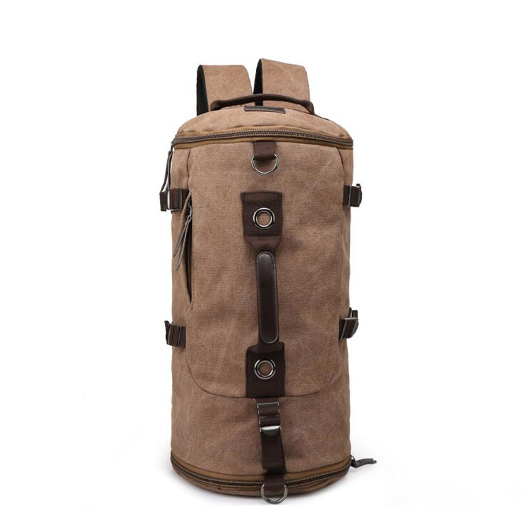 New travel mountaineering male bag handbag shoulder canvas travel backpack