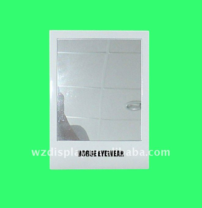 glasses store desktop mirror;cosmetic counter mirror;mirror for optical stores