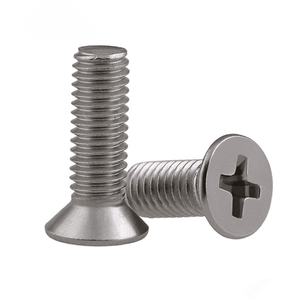 DIN965 Stainless steel countersunk flat head small machine screws