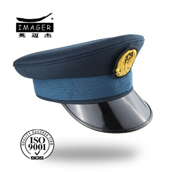 Army military officer short peaked cap