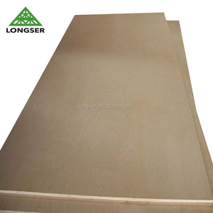 High Quality Bleached White Poplar 3mm Laser Plywood