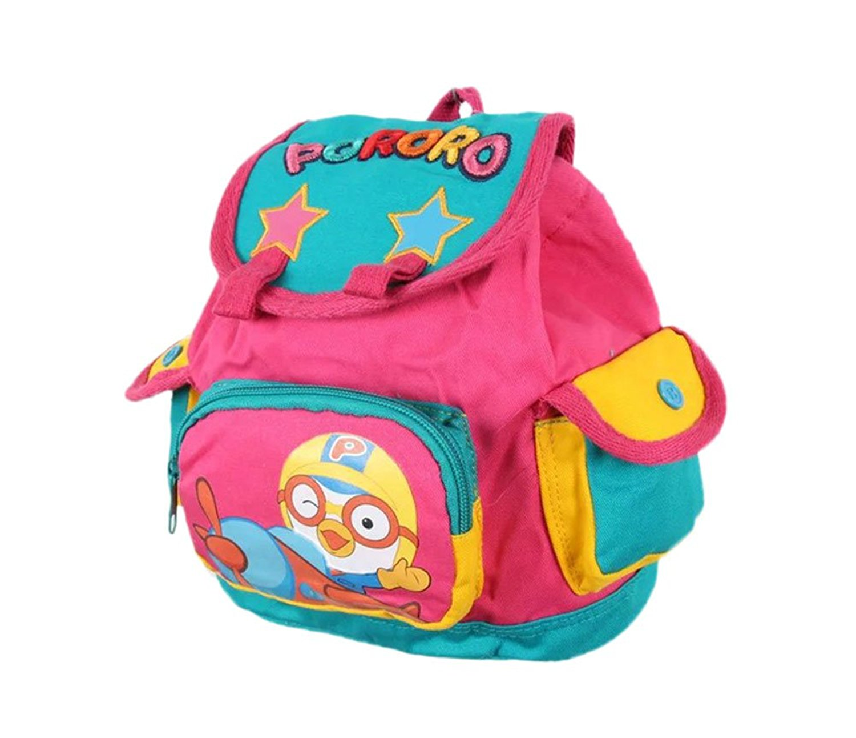 5c9f28ea7ffb Lunas Children Cotton School Bag Toddler Kids Backpack Rucksack Bookbag  Daypack (Pink) 202411cm