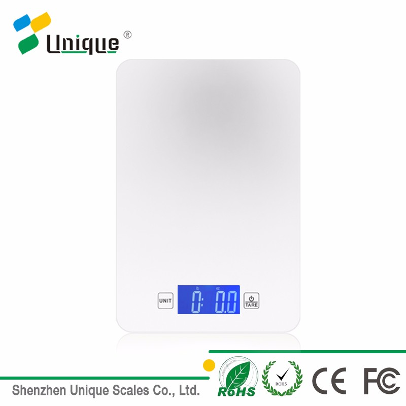 5kg precision digital food grade ce rohs certificate standard tempered glass type Bluetooth kitchen cook scale