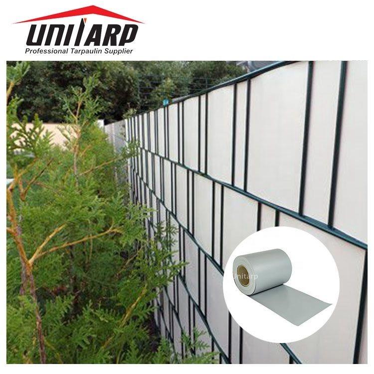 Sichtschutz Streifen Zaunblende PVC Folie Doppelstabmatten Anti-UV Zaunfolie