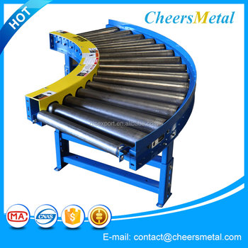 High quality manual roller table conveyor