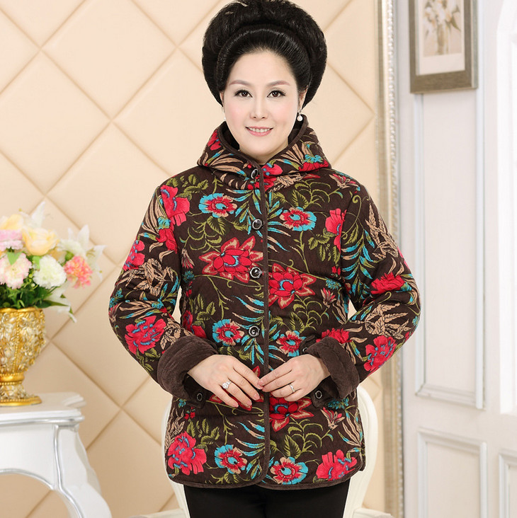 Quilted Jackets Bigsize Woman 11