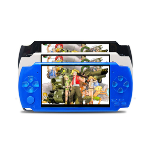 2018 wholesale game console video game player free download 3d games with mp4/mp5 function