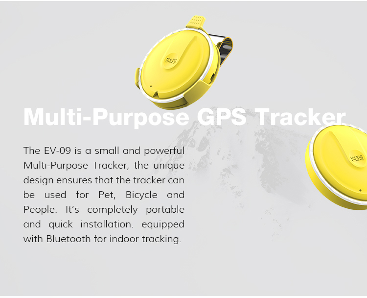 Handheld GPS Tracker With SIM Card , Children Tracking Locator , SOS Button Emergency Calling Wristband