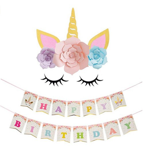 Party Event Supplies Verjaardag Decoratie Pack met Kunstmatige Papieren Bloem
