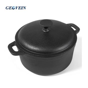 Vegetable Oil Coating Black Shabu Outdoor Cooking Pot