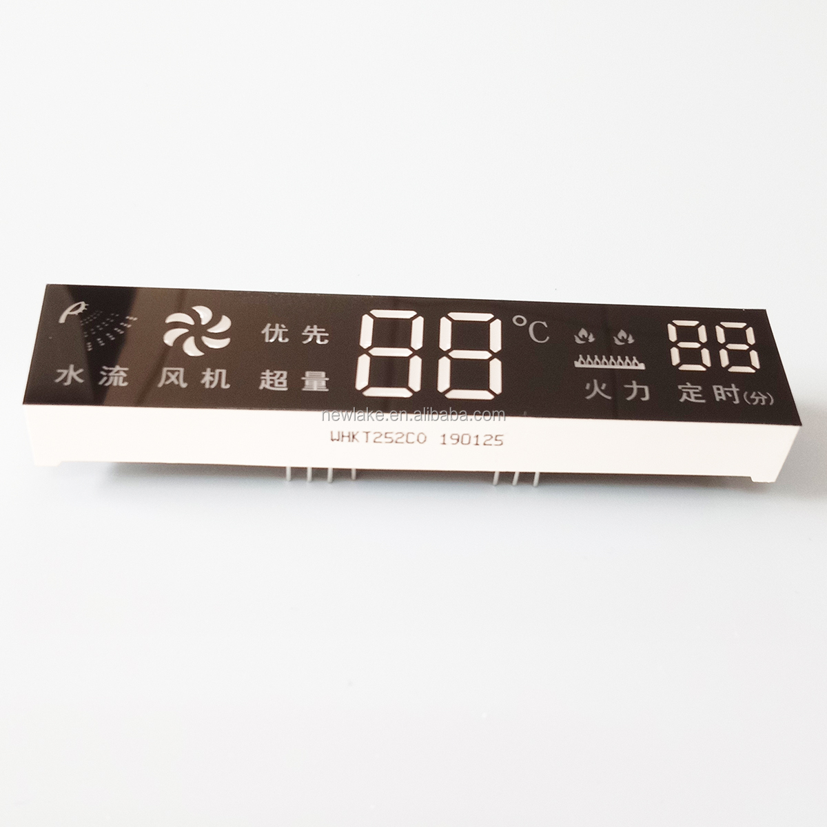 Home Appliance Display Module custom voltmeter display 7 segment led display