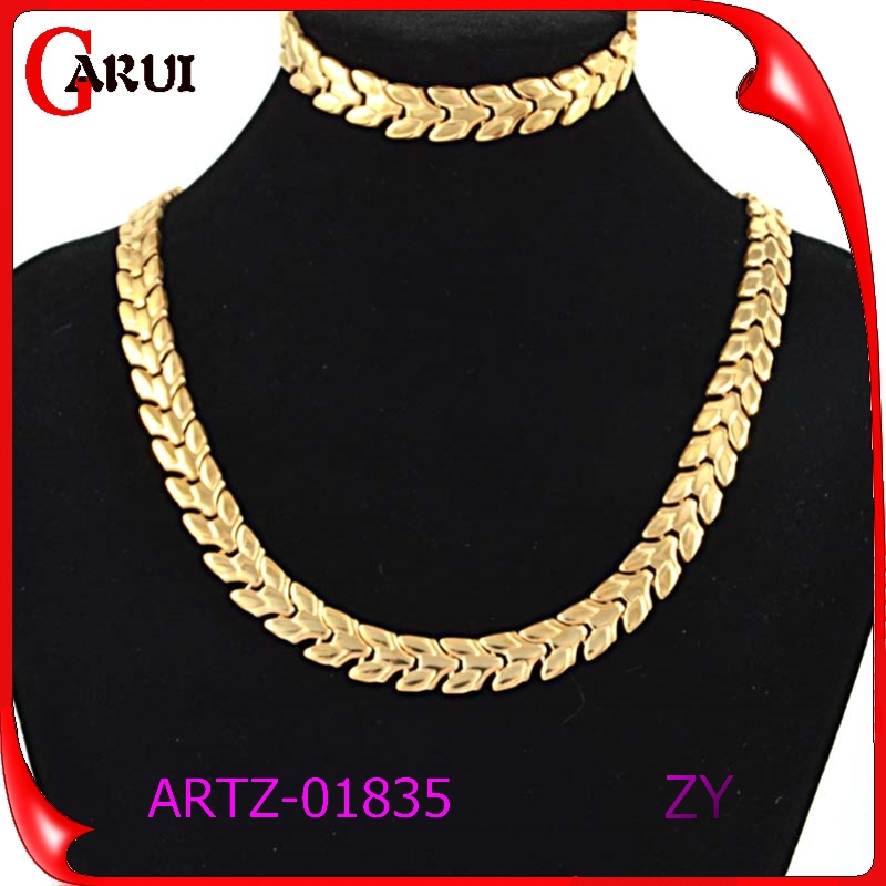 luxury gold jewelry women jewellery set victorian jewelry