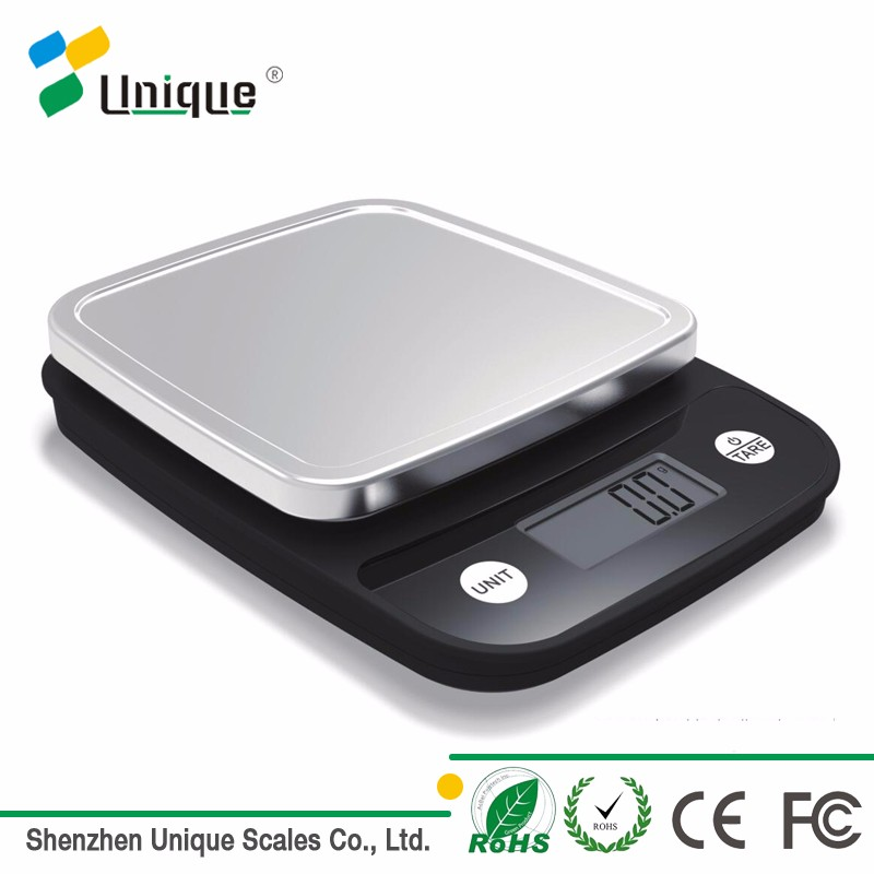 5kg 1g precision small measuring digital ABS platform waterproof kitchen mini food scale