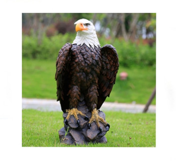 Resin Outdoor Ornaments Eagle Decoration - Buy Eagle Decoration ...