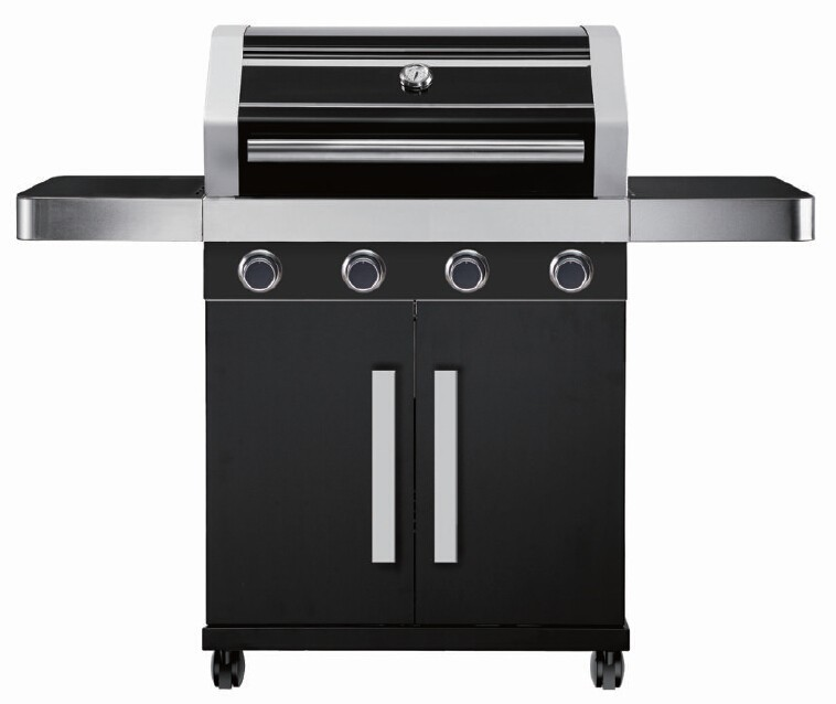 2015 new gas bbq with cast iron burners bbq gas grill