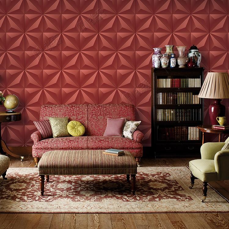 Intérieur Panneau Mural Papier Peint Tv Fond 3d Design De Mode Pvc ...