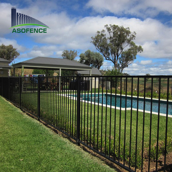 CE certificated hot dipped galvanized tube swimming pool fence, View  swimming pool fence, A S O- swimming pool fence Product Details from Anping  ...