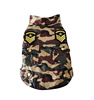 Fashion Camouflage Dog Clothes cool army dog clothes