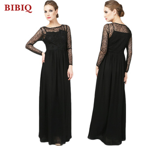 47e7cec30afaa China Evening Dress With Lace Sleeves