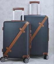 Matériau ABS coquille dure bagages <span class=keywords><strong>vintage</strong></span> <span class=keywords><strong>Voyage</strong></span> Valise Trolley