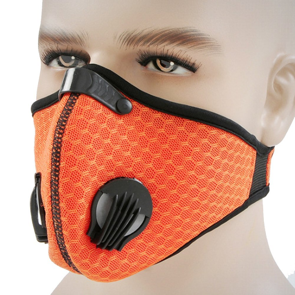 1ec1fab2201 Get Quotations · Dust Mask—IUNIQEE Activated Carbon Dust-proof Mask Face  Mask Filtration Exhaust Gas Anti