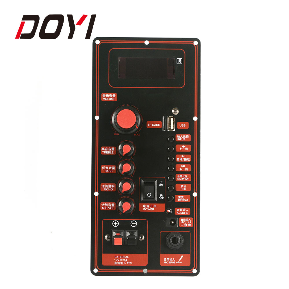 Doyi Power Amplifier Pcb Circuit Board With Bluetooth ...