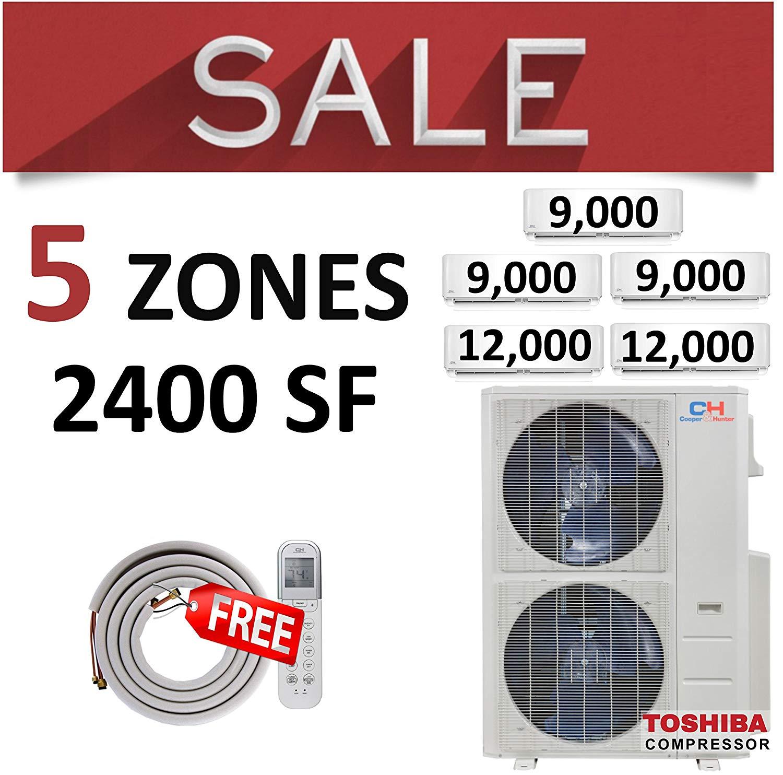 Buy Daikin 12k+12k Air Conditioner Ductless Inverter 2 Zones