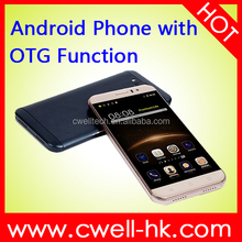 G8 OTG Function 5.0 Inch Arc Touch Screen Quad Core android phone with usb otg