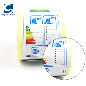 High Quality Adhesive Labels For Tires Wheel Sticker Tyre Label