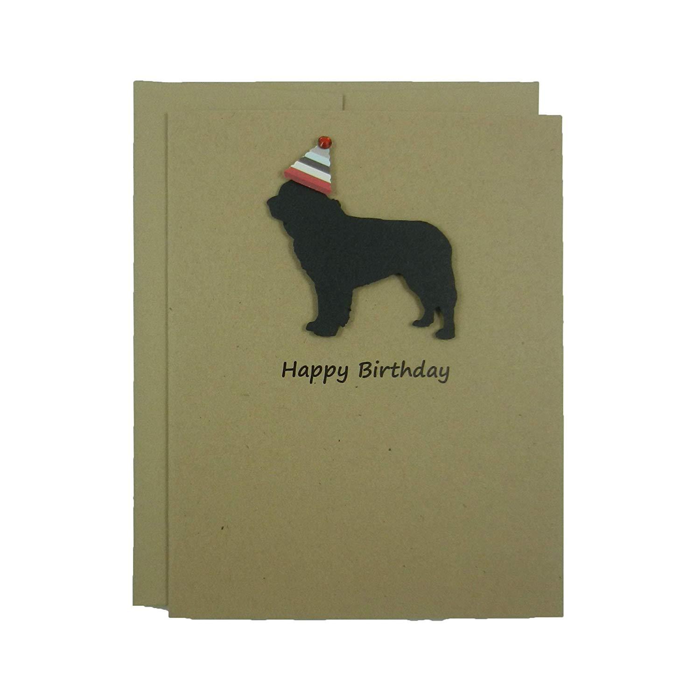 Get Quotations Newfoundland Dog Birthday Card