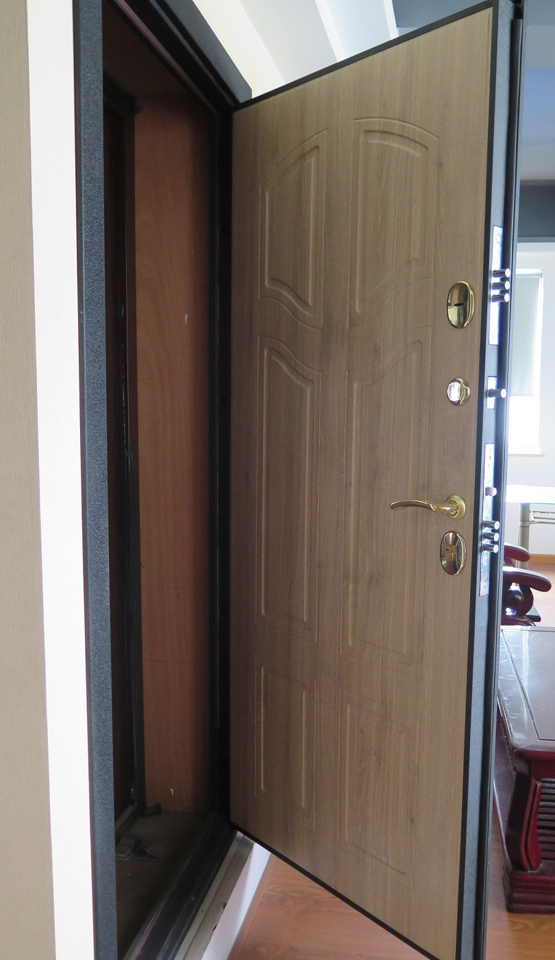 Steel Wooden Armored Door With Italy Style Or Russian