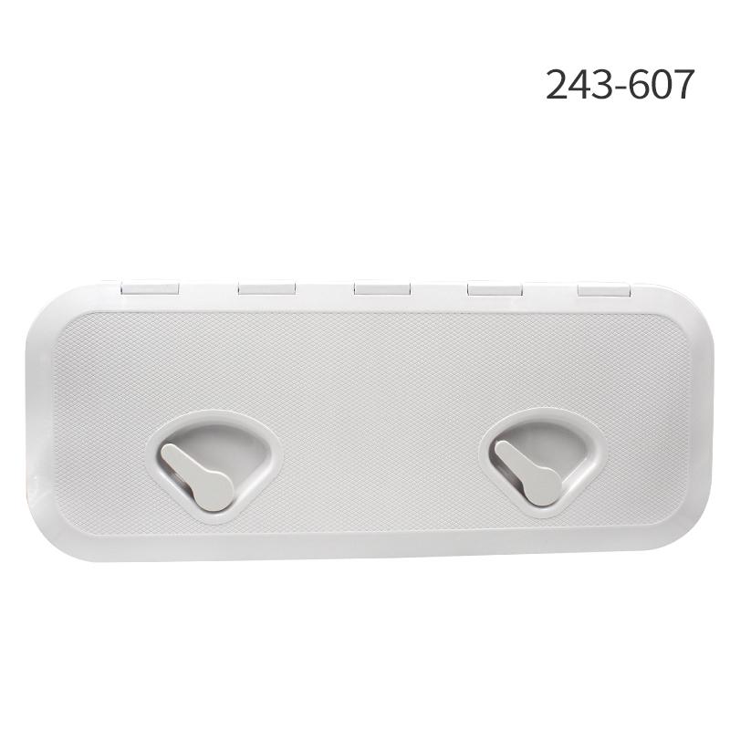 Seaflo Marine Deck Plate Inspection Hatch Plastic Access Boat RV 270x 375mm