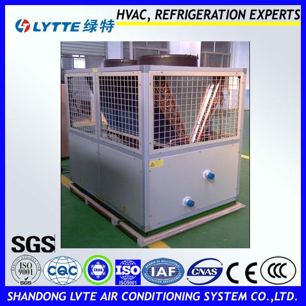 Scroll Type Compressor Air Source Heat Pump for Industrial Use