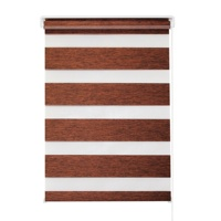 Cheap lowest price indoor manual window shades blackout zebra blinds