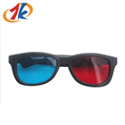 Low Price Plastic 3d Red Blue film Glasses For Cinema And TV