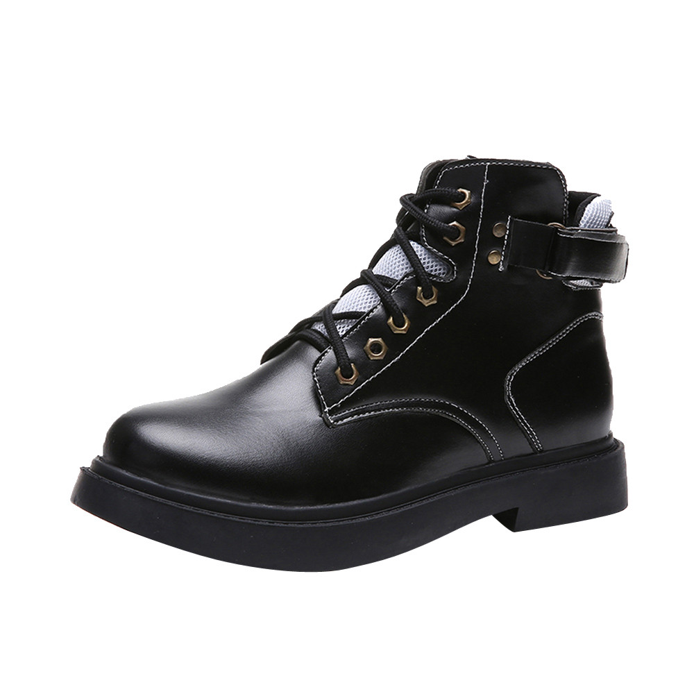 Detail Feedback Questions about Winter boots women British Vintage ... 3f484ecf2037