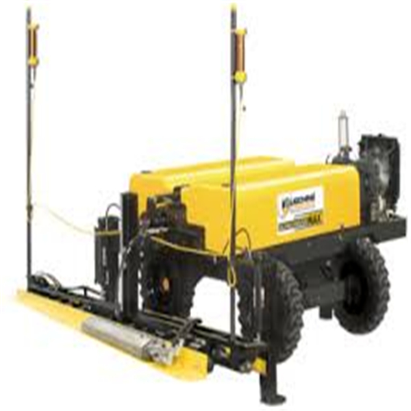 20hp/3600rpm Solid puncture-proof tyre Concrete Laser Screed Machine For Sale