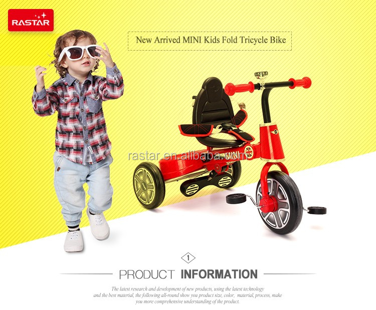 Best rastar baby carrier tricycle bike with reasonable price