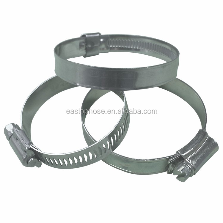 Quick release stainless steel clamping ring fasteners wire