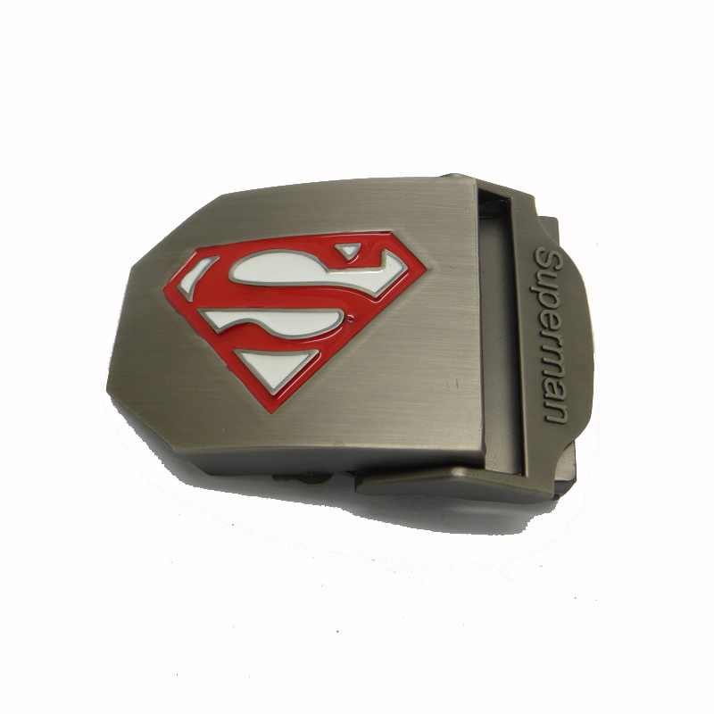 Custom military belt <strong>buckles</strong>,iron alloy superman belt <strong>buckle</strong> factory price