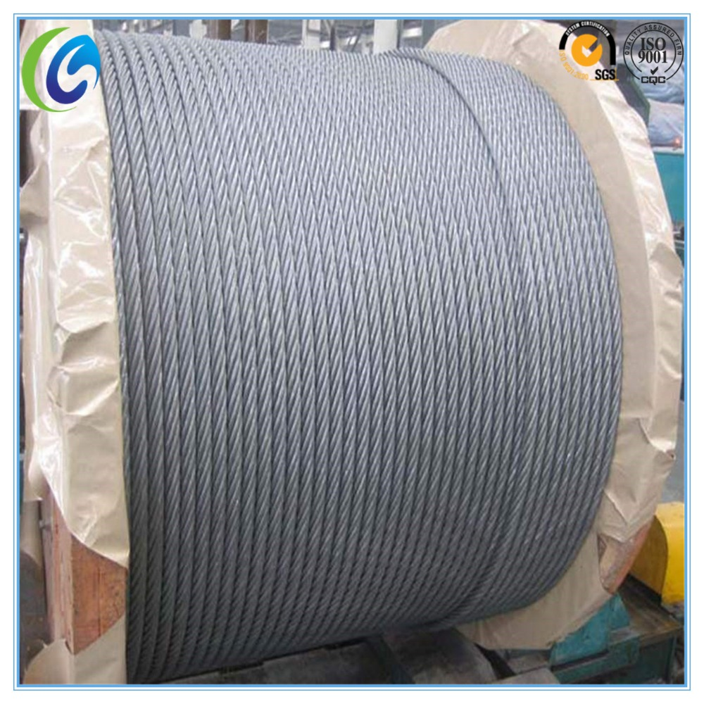 6x19s Galvanized Steel Wire Rope, 6x19s Galvanized Steel Wire Rope ...