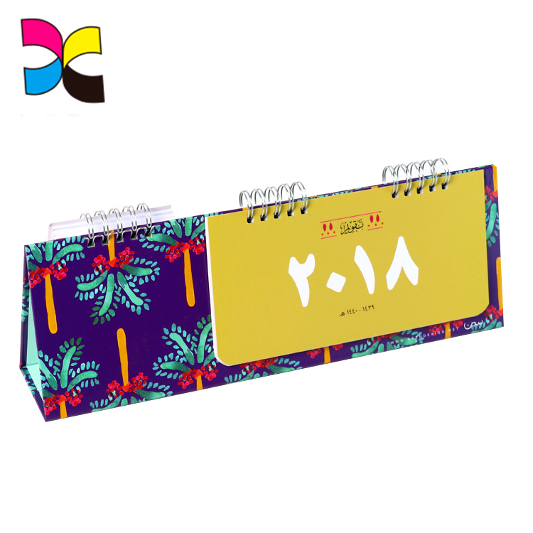 OEM eco-friendly professional team services customized cmyk printing paper calendar