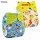 Pororo New Arrival Waterproof PUL reusable cloth diaper