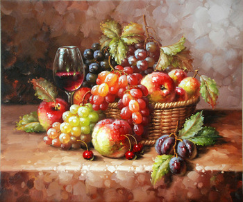 Handmade Fruit Still Life Wall Decor Art Canvas Oil Paintings Buy Canvas Fruit Oil Paintings Canvas Fruit Painting Canvas Painting Product On