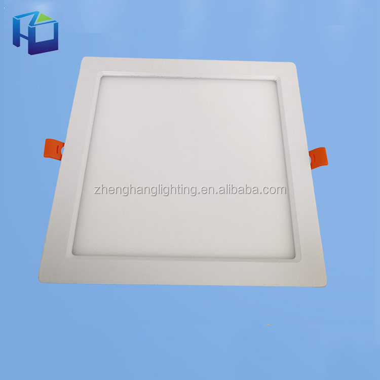 High Power Ip40 Dimmable Recessed Slim Round Ceiling Best Price 18W Led Panel Light 24W