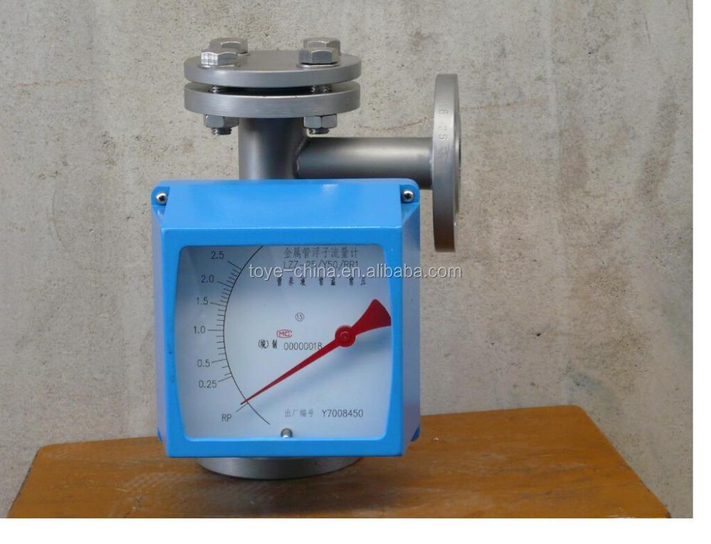 Metal Tube Rotameter Is Used For Fluid Flow Measurement